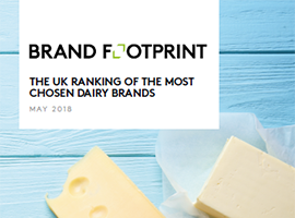 Brand Footprint: The most chosen UK dairy brands