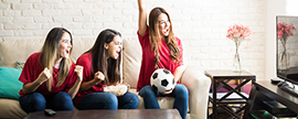Game on for TV manufacturers as FIFA World Cup looms