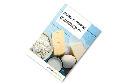 Our Brand Footprint report on the top 20 most chosen UK dairy brands.