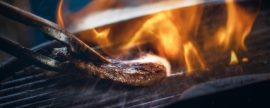 Burgers and grills boom as mercury soars