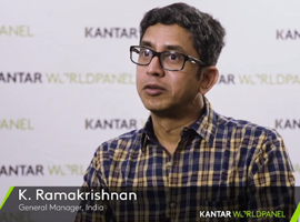 "K. Ramakrishnan: ""India's brands landscape is changing"""