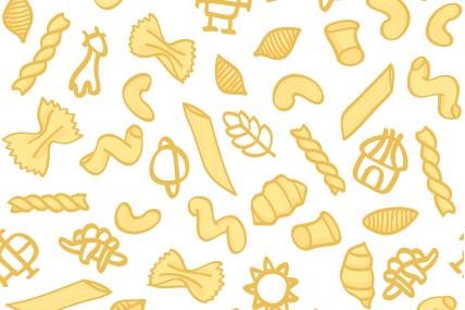 [INFOGRAPHIE] Les pâtes et les Français