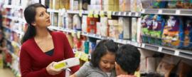 Compras de alimentos y cuidado del hogar son prioridad