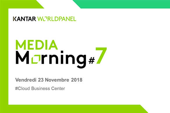 7ème édition du Media Morning de Kantar Worldpanel