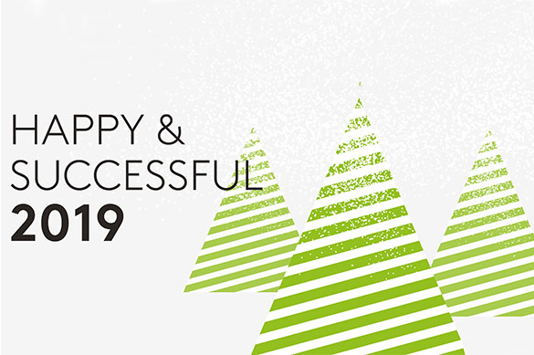 Très belle et heureuse année 2019 !