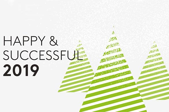 ¡Te deseamos un exitoso y feliz año nuevo!