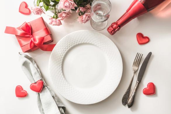 El día del amor y la amistad se celebra comiendo