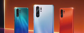 Huawei launches P30 smartphone series