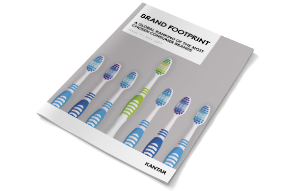 Brand Footprint, o novo ranking FMCG já disponível