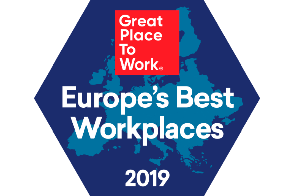 Kantar has achieved 16th place in the 2019 rankings as a Great Place to Work in Europe.