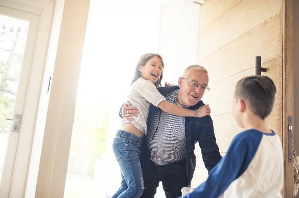 Los abuelos comen más saludables que el resto