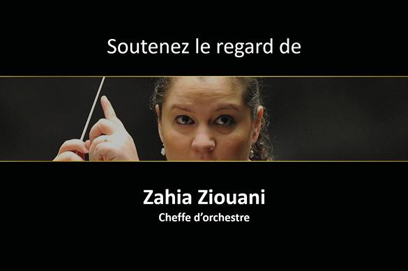 Kantar Vision : Zahia Ziouani, cheffe d'orchestre
