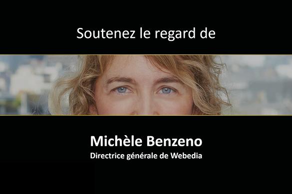 Kantar Vision : Soutenez le regard de Michèle Benzeno