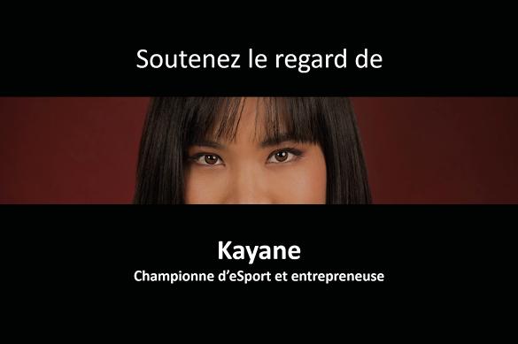 Kantar Vision : Soutenez le regard de Kayane