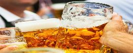 Consumo de cerveza semanal es de 1.5 veces en promedio