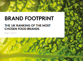 Brand Footprint UK 2019 - Food