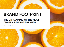Brand Footprint UK 2019 - Beverages