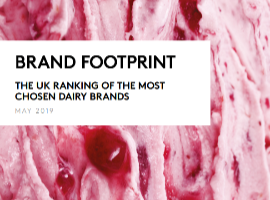 Brand Footprint UK 2019 -  Dairy