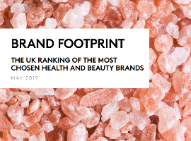 Brand Footprint UK 2019 - Health and beauty
