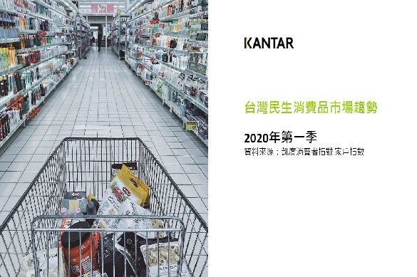 凱度消費者指數公佈2020Q1台灣民生消費品市場趨勢報告