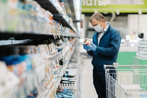 Irish grocery edges back to normality