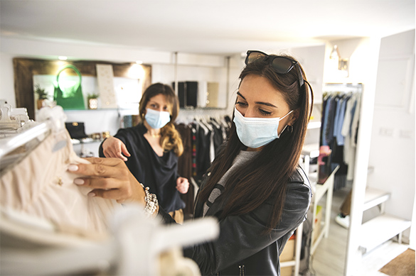 El sector de la moda abandona la caída a doble dígito