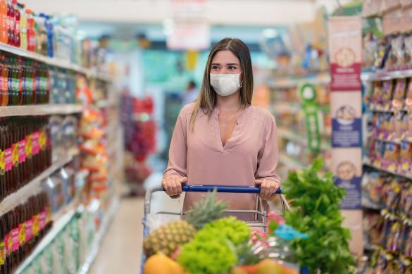 Alimentos, Bebidas y Lácteos lo más comprado en 2020