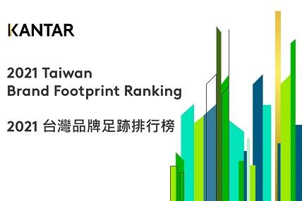 全台15億次消費決策排行 凱度公布2021台灣品牌足跡榜