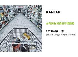 2021第一季台灣民生消費品市場趨勢