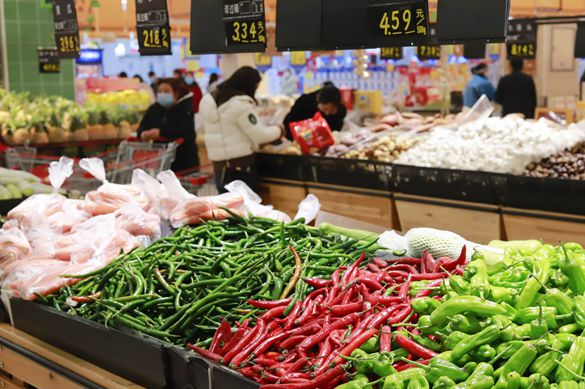 Chinese fresh food sales boosted by COVID-19