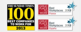 Kantar Worldpanel, Recognised as a Great Company to Work For