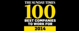 Kantar Worldpanel named in The Sunday Times Top 100