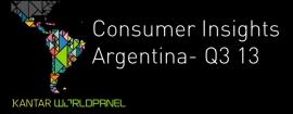 Consumer Insights Q3.2013
