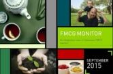 FMCG MONITOR SEPTEMBER 2015